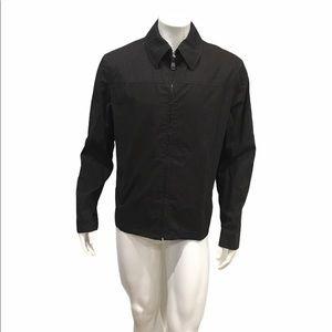 Burberry Mens Brown Windbreaker Jacket
